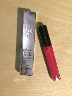 Lancome L'absolu Velvet Matte Intense Color 362 rose moderne 瑰麗豐盈唇膏液