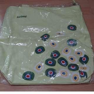 Kelme Bolsa Tote Bag ( Lime green)