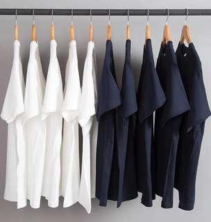 🚚 Round Neck Plain T-Shirt