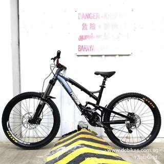 26er Polygon Collosus FR 1.0 Full Suspension Mountain Bike