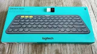Logitech K380 multi-device bluetooth keyboard + Bluetooth adaptor for PC