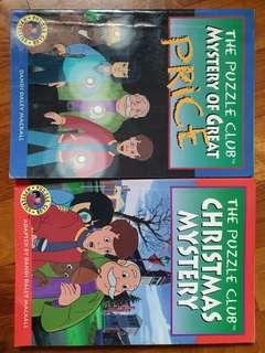 The Puzzle Club - Mystery of Great Price & Christmas Mystery