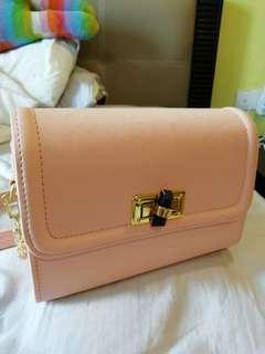 Pink girl bag