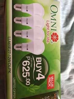 Omni 12W Light BulbsValue Pack