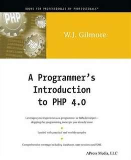 a programmer's introduction to php 4.0 w.j.gilmore #CNY2019
