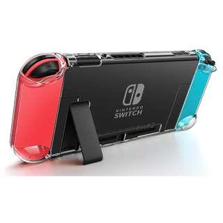(BUNDLE) Nintendo Switch Crystal Case + Clear Screen Protector