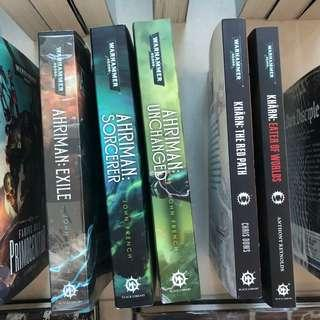 Alpha Legion, Emperor's Children, Thousand Sons and World Eaters: Warhammer 40k Books & Novels - Chaos Space Marines
