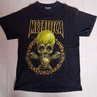 Rare 2001 Metallica tour tshirt metal band vintage