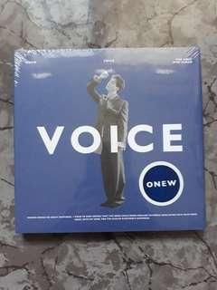 Onew - Voice 1st Mini Album (Blue Version)