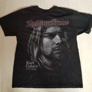 Rare vintage 1994 Kurt Cobain official tshirt Nirvana