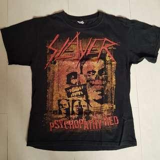 Rare vintage 2009 Slayer world tour tshirt metal band