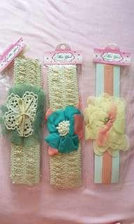 Hair bands/clips for babies/kids