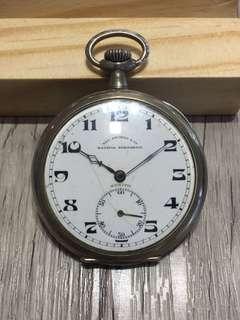 Batavia Soerabaia Silver Pocket Watch Vintage