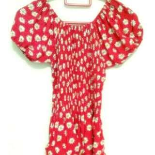 Daisy red top
