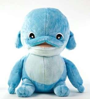 🚚 正版授權12吋姆姆抱抱海豚造型玩偶