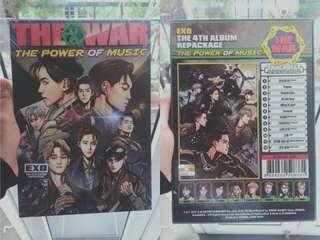 Album EXO ( THE WAR)