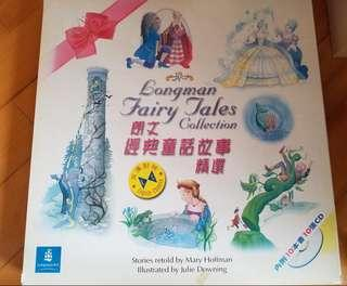 朗文經典童話故事精選(連 CD) Longman Fairy Tales Collection Story Books (Eng & Chin) with CD