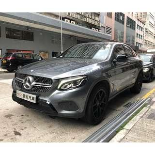 MERCEDES-BENZ GLC250 COUPE 2016