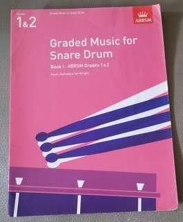 ABRSM Graded Music for Snare Drum Book 1: Grades 1&2