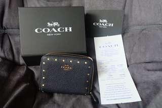 Coach wallet navy