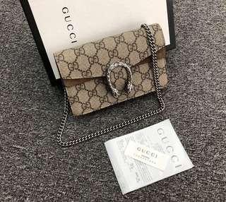 🚚 ( CLEARANCE SALE 💥) Authentic Gucci Dionysus Super Mini in very good condition