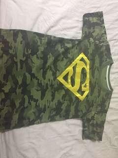 Camo Superman shirt