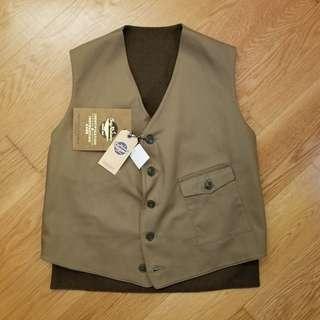Buzz Rickson's military vest 雙面 size 40