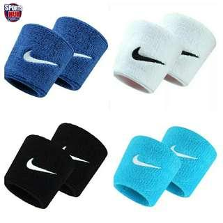 🚚 Authentic Nike Swoosh Wristband Sweatband