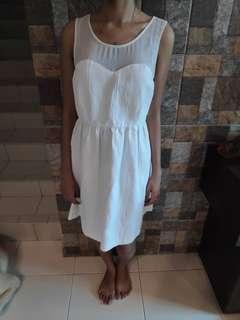 Zara White Dress