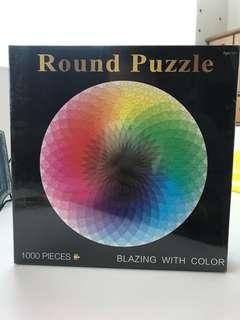 🚚 Round puzzle