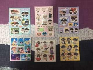🚚 EXO Fanart Stickers
