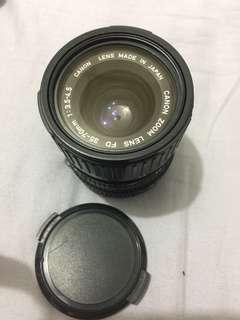 🚚 Canon  zoom LENS FD 35-70 1:3.5-4.5