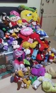Stuffed toys plushies