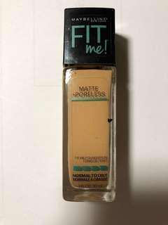 Maybelline fit me foundation 220 nude beige