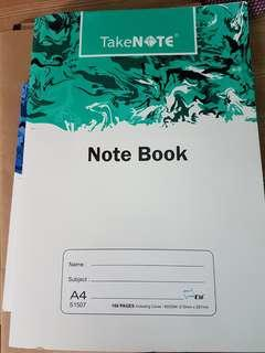 A4 size book