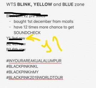 WTS 23/02 Blackpink World Tour in Malaysia