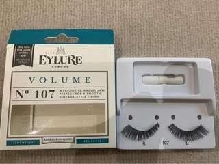 Eylure false eyelashes