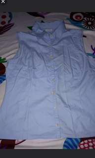 Shirt biru