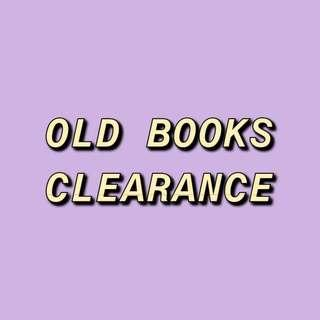OLD BOOKS CLEARANCE