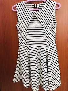 Basic Striped Dress