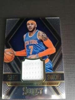 Panini nba Carmelo Anthony card