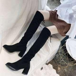 高跟過膝靴