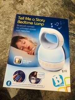 (READY STOCKS) brand new tell me a story bedtime lamp