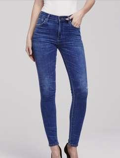 NEW WITH TAGS Citizens of Humanity Jeans Rocket Mid Rise Skinny Size 26