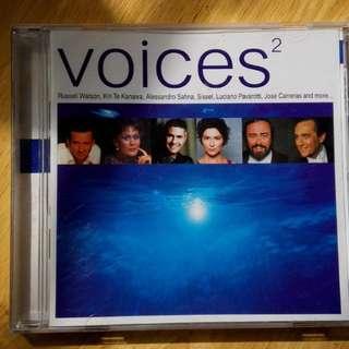 Voices classic songs, 古典英文歌曲
