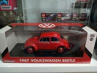Greenlight Collectibles 1:18 Volkswagen Beetle Limited Edition (Red)