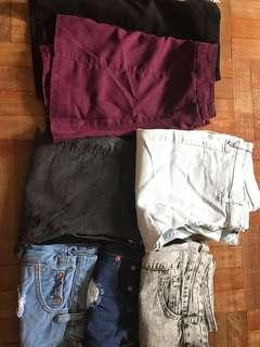 [CLEARANCE] SKIRTS/JEANS/RIPPED SHORTS