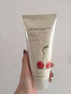 The Face Shop Herb Day Cleansing Cream - Cherry