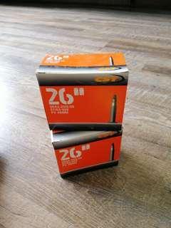 2 x 26 inch tubes