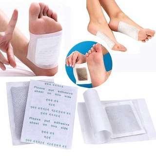 10 pair(20pcs)Good detox foot pads patch detoxify toxin adhesive keeping fix health care